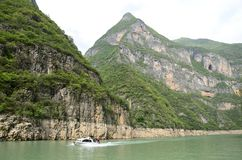China Yangtze River Three Gorges scenic essence Stock Photos