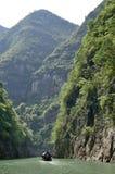 China Yangtze River Three Gorges scenic essence Royalty Free Stock Image