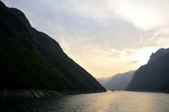 China Yangtze River Three Gorges scenic essence Stock Photo