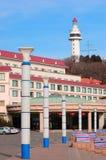 China  Yantai city Beacon Royalty Free Stock Photos