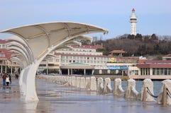 China  Yantai city Beacon Royalty Free Stock Photo