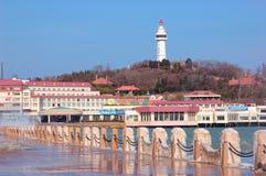 China  Yantai city Beacon Stock Photography
