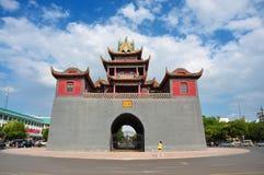 China, YinChuan  Drum Tower, NingXia Royalty Free Stock Photo