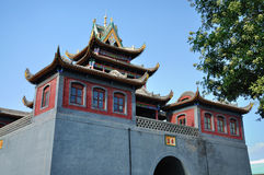 China, YinChuan, Drum Tower,NingXia Royalty Free Stock Photos