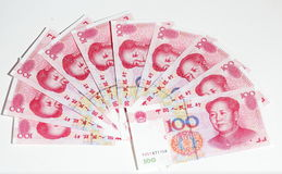 China yuan Stock Photo