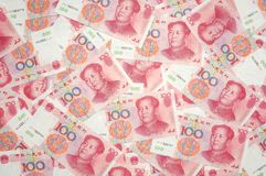 China yuan background Stock Image