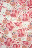 China yuan background Royalty Free Stock Image