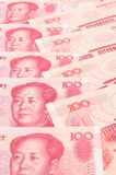 China yuan closeup Stock Photo