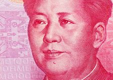 China yuan money. chinese currency Royalty Free Stock Photography