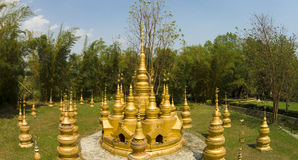 China Yunnan  Buddhist mengjinglai Royalty Free Stock Images