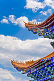 China Yunnan Dali Sacred Temple of classical architecture Royalty Free Stock Image