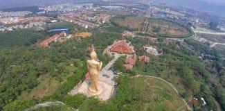 China Yunnan  large Buddhist temple Stock Photography