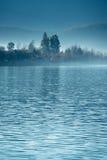 The China Yunnan morning Lugu Lake Royalty Free Stock Photo