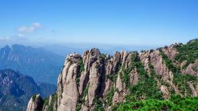 China zet Sanqingshan-landschap op Royalty-vrije Stock Fotografie