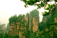 China zhangjiajie Stock Photo