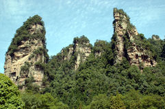 China, ZhangJiaJie mountains Stock Image