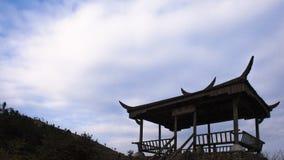 China Zhejiang cloudy mountain Royalty Free Stock Photos