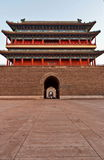 China Zhengyang gate Royalty Free Stock Image