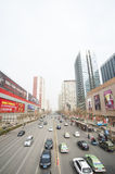 China Zhengzhou city street Stock Images