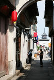 China Zhenze town Stock Image