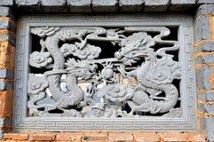 China-Ziegelstein Stockbild