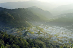 china05 hani taras Yunnan Zdjęcia Stock