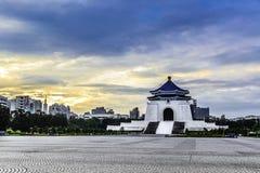 Chinag Kai Shek Memorial Hall, Taiwan Arkivfoton