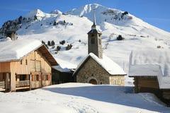 Chinaillon del Le Grand Bornand le fotografie stock libere da diritti