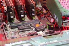 2013ChinaJoy: Компьютерное оборудование уровня танка Jingxian Стоковое Изображение
