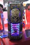 2013ChinaJoy : Forme de crâne du châssis d'ordinateur Photo libre de droits