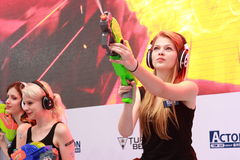 2013ChinaJoy Showgirl Moments Stock Photography