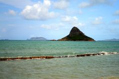 Chinaman's Hat, O'ahu, Hawaii Royalty Free Stock Photo