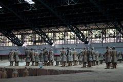 Chinas antyczny chari - Xian miasto Fotografia Royalty Free