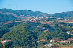 Chinas Dorf lizenzfreie stockbilder