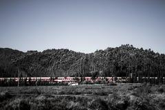 Chinas Eisenbahn Stockfoto