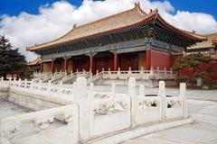 Chinas königliches Gebäude Stockbilder