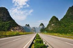 Chinas Landstraße Stockfoto