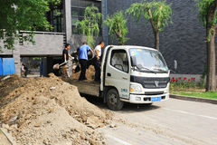 Chinas migrant workers Stock Images