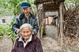 Chinas rural elderly later life Stock Photos