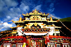 Chinas Tibet-Konstruieren Stockfotos