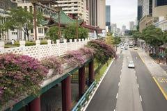 Chinatown à Singapour Image libre de droits