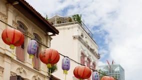 Chinatown à Singapour Photos stock