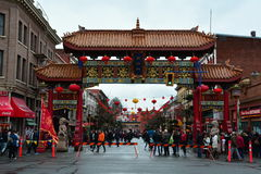 Chinatown, Βικτώρια Π.Χ., Καναδάς στοκ εικόνες με δικαίωμα ελεύθερης χρήσης