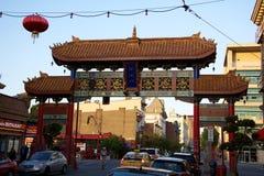 chinatown Βικτώρια στοκ φωτογραφία με δικαίωμα ελεύθερης χρήσης