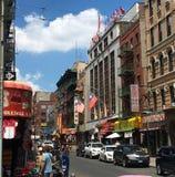 Chinatown, πόλη της Νέας Υόρκης στοκ εικόνα με δικαίωμα ελεύθερης χρήσης