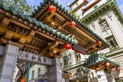 Chinatown, Σαν Φρανσίσκο, ασβέστιο Στοκ φωτογραφίες με δικαίωμα ελεύθερης χρήσης