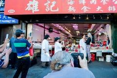 Chinatown σε NYC Στοκ Φωτογραφίες