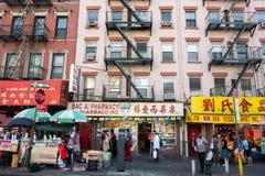 Chinatown σε NYC Στοκ Εικόνες