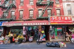 Chinatown σε NYC Στοκ Εικόνα