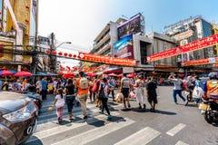 Chinatown της Μπανγκόκ, Ταϊλάνδη Στοκ Εικόνα